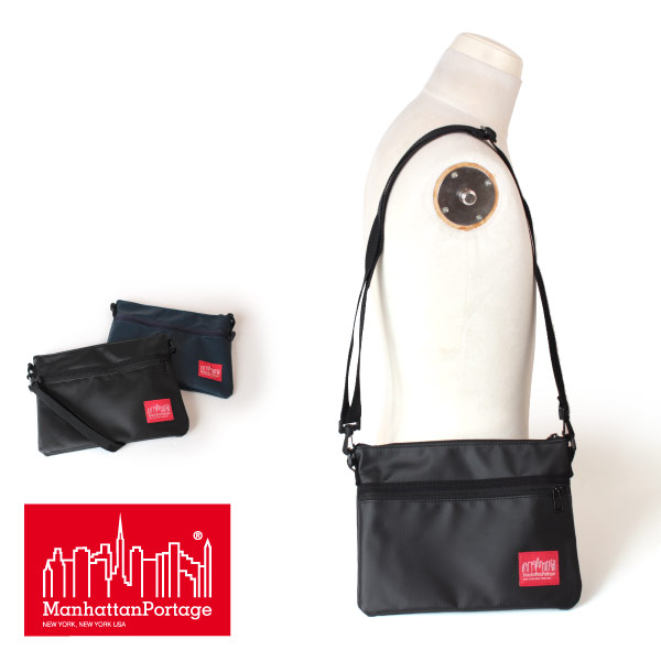 (マンハッタンポーテージ) Manhattan Portage Matte Vinyl Harlem Bag MP1084MVL