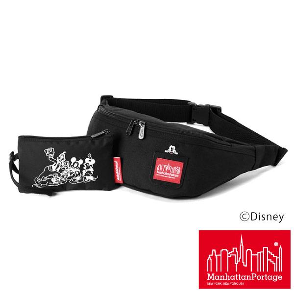 (マンハッタンポーテージ) Manhattan Portage Mickey Mouse ウエストポーチ ウエストバッグ Brooklyn Bridge Waist Bag