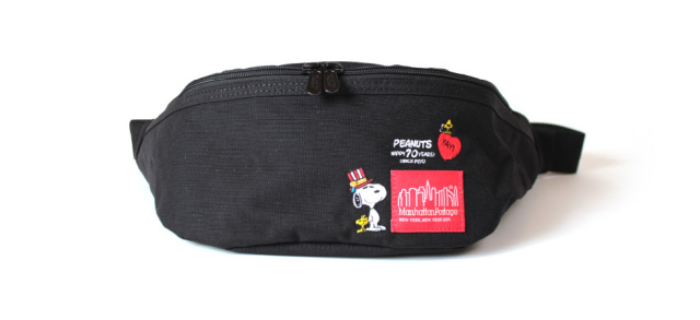 (マンハッタンポーテージ) Manhattan Portage ×PEANUTS Brooklyn Bridge Waist Bag PEANUTS 2020 MP1100PEANUTS20