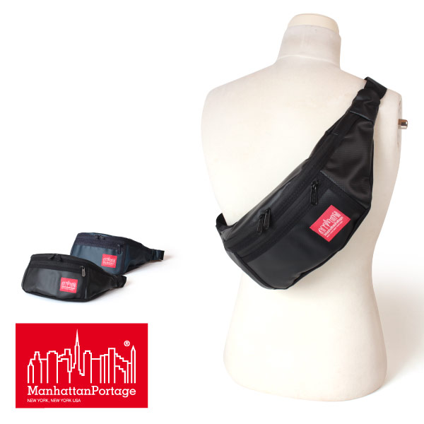 (マンハッタンポーテージ) Manhattan Portage Matte Vinyl Alleycat Waist Bag MP1101MVL