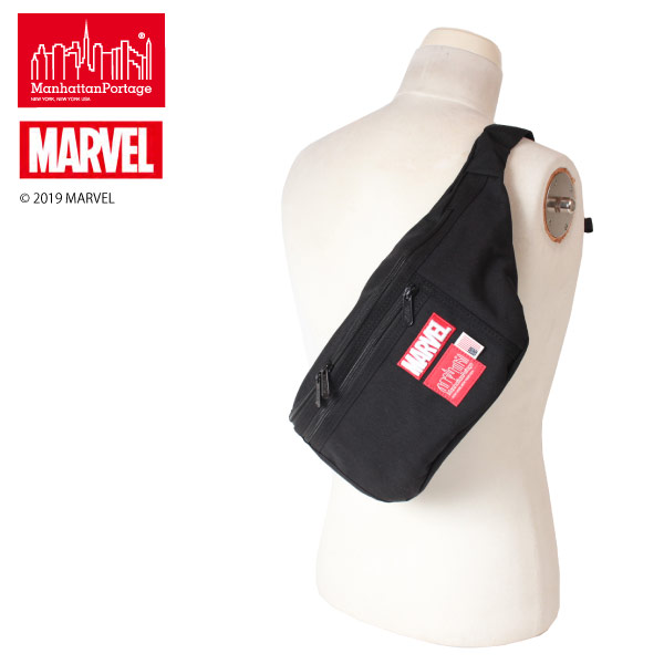 (マンハッタンポーテージ) Manhattan Portage MARVEL Collection Alleycat Waist Bag (LG) MP1102MARVEL