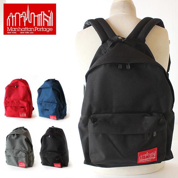 LINE限定クーポンで20%OFF★【即納】【送料無料】マンハッタンポーテージ 正規品 Manhattan Portage リュックサック デイパック Big Apple Backpack MP1210 鞄