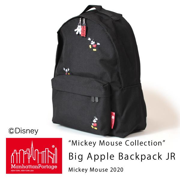 (マンハッタンポーテージ) Manhattan Portage Mickey Mouse Collection Big Apple Backpack JR Mickey Mouse 2020 MP1210JRMIC20