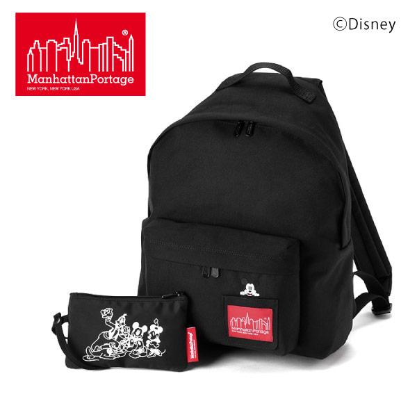(マンハッタンポーテージ) Manhattan Portage Mickey Mouse リュック リュックサック デイパック Big Apple Backpack