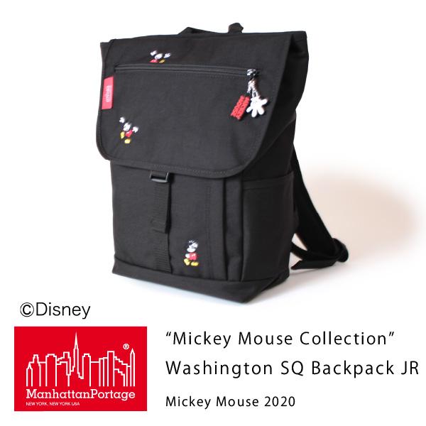 (マンハッタンポーテージ) Manhattan Portage Mickey Mouse Collection Washington SQ Backpack JR Mickey Mouse 2020 MP1220JRMIC20