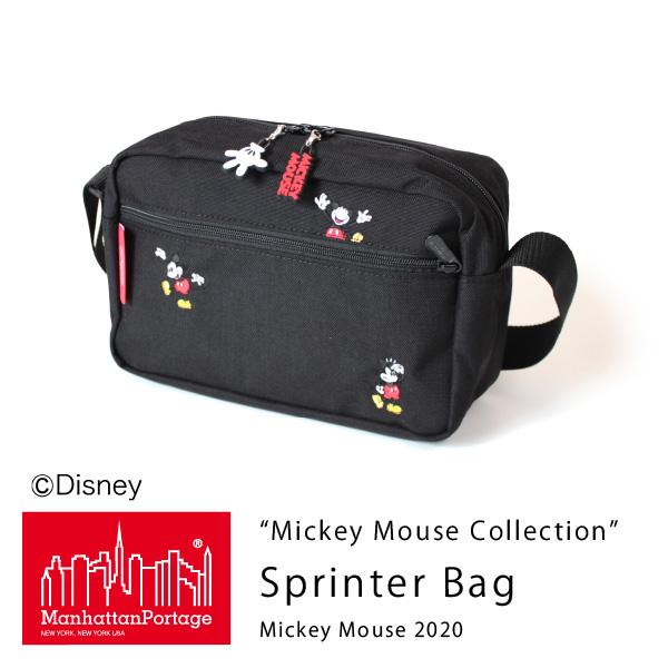 (マンハッタンポーテージ) Manhattan Portage Mickey Mouse Collection Sprinter Bag Mickey Mouse 2020 MP1401LMIC20