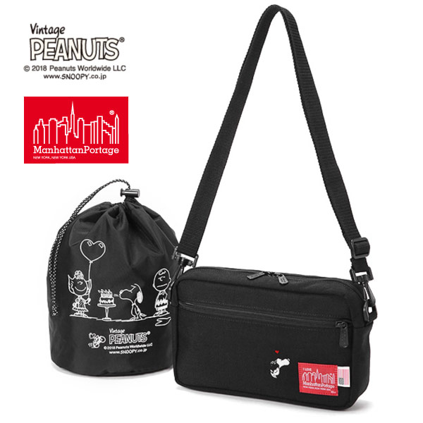 (マンハッタンポーテージ) Manhattan Portage ×PEANUTS Jogger Bag MP1404LPEANUTS18