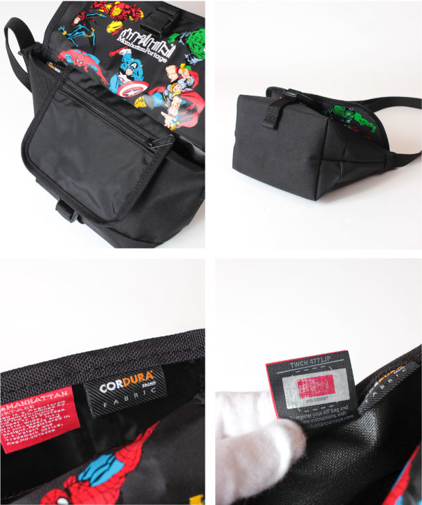 (マンハッタンポーテージ) Manhattan Portage MARVEL Collection Casual Messenger Bag MP1603MARVEL