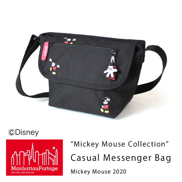 (マンハッタンポーテージ) Manhattan Portage Mickey Mouse Collection Casual Messenger Bag Mickey Mouse 2020 MP1603MIC20