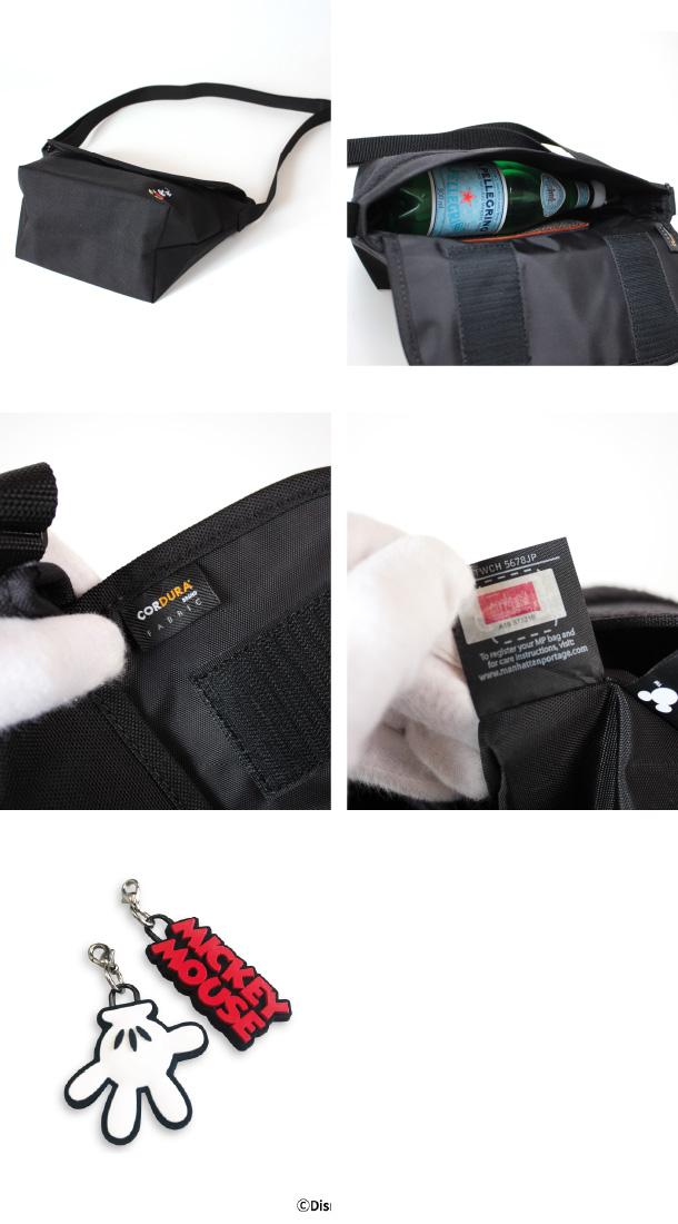 (マンハッタンポーテージ) Manhattan Portage Mickey Mouse Collection Casual Messenger Bag Mickey Mouse 2020 MP1603MIC20