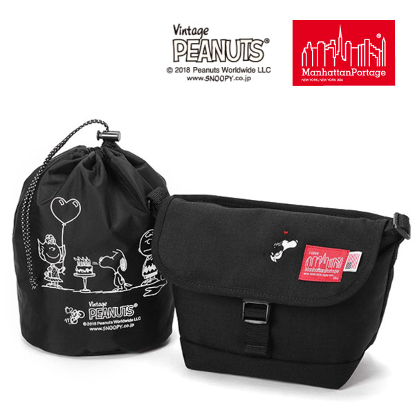 (マンハッタンポーテージ) Manhattan Portage ×PEANUTS Casual Messenger Bag MP1603PEANUTS18