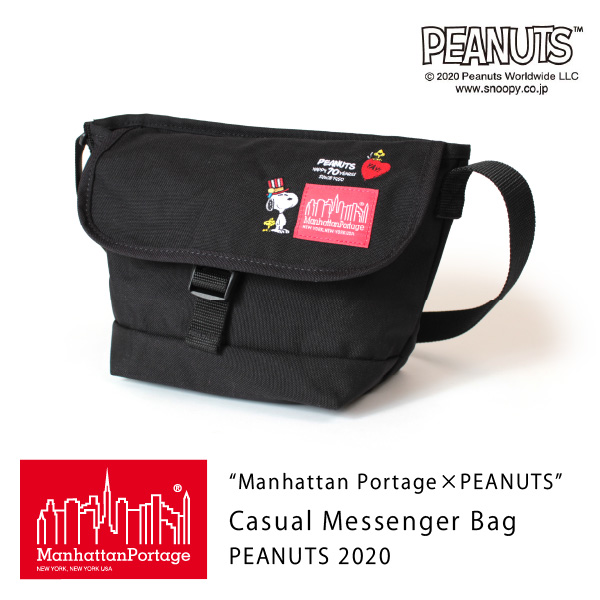 (マンハッタンポーテージ) Manhattan Portage ×PEANUTS Casual Messenger Bag PEANUTS 2020 MP1603PEANUTS20