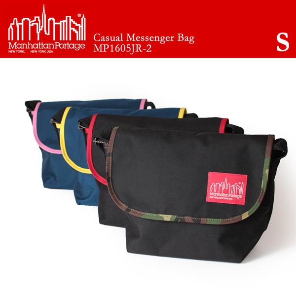 【即納】【送料無料】Manhattan Portage マンハッタンポーテージ メッセンジャーバッグ ショルダーバッグ 2tone Casual Messenger Bag MP1605JR-2