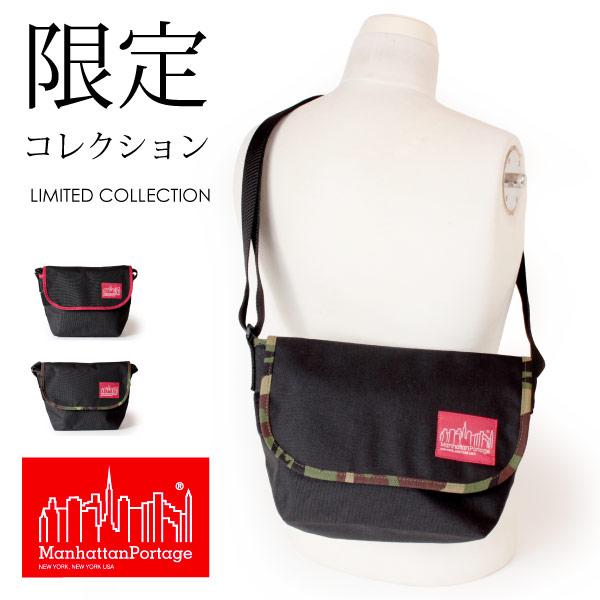 (マンハッタンポーテージ) Manhattan Portage メッセンジャーバッグ ショルダーバッグ 2tone Casual Messenger Bag MP1605JR-2