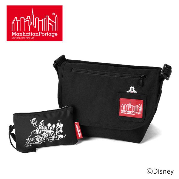 (マンハッタンポーテージ) Manhattan Portage Mickey Mouse メッセンジャーバッグ ショルダーバッグ Casual Messenger Bag JR