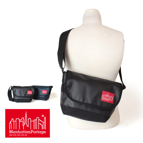(マンハッタンポーテージ) Manhattan Portage Matte Vinyl Casual Messenger Bag JR MP1605JRMVL