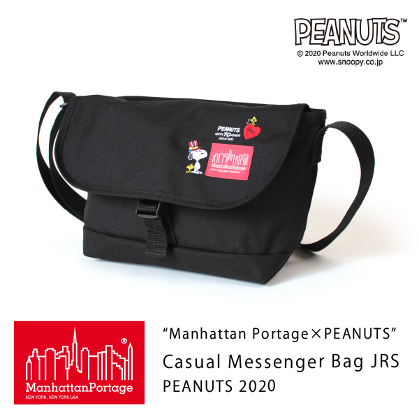 (マンハッタンポーテージ) Manhattan Portage ×PEANUTS Casual Messenger Bag JRS PEANUTS 2020 MP1605JRSPEANUTS20