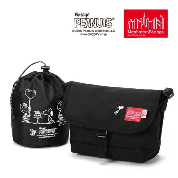 (マンハッタンポーテージ) Manhattan Portage ×PEANUTS Casual Messenger Bag MP1605JRSPEANUTS18