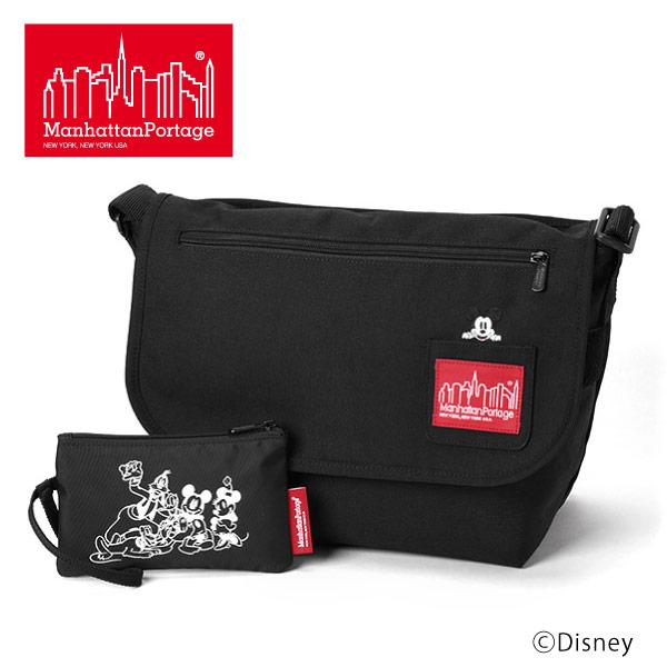 (マンハッタンポーテージ) Manhattan Portage Mickey Mouse メッセンジャーバッグ ショルダーバッグ Vintage Messenger Bag JR