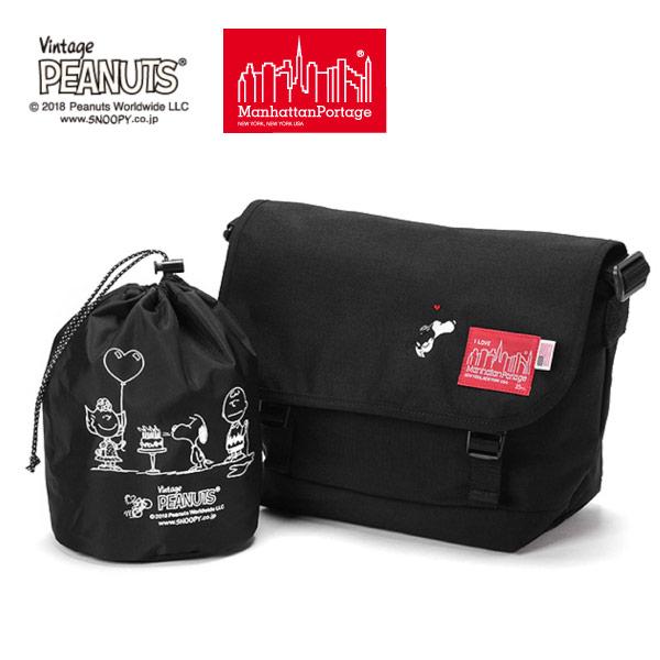 (マンハッタンポーテージ) Manhattan Portage ×PEANUTS Casual Messenger Bag MP1606JRPEANUTS18