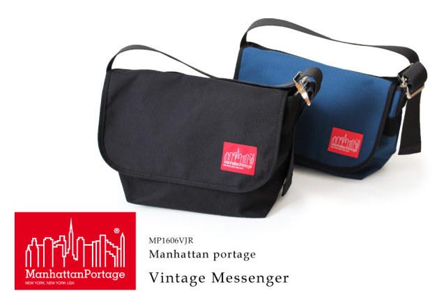 (マンハッタンポーテージ) Manhattan Portage メッセンジャーバッグ Vintage Messenger Bag MP1606VJR