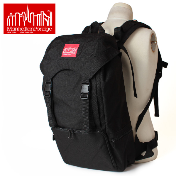 【即納】【送料無料】Manhattan Portage マンハッタンポーテージ リュックサック ハイカーバックパック デイパック Hiker Backpack MP2103CD3 鞄