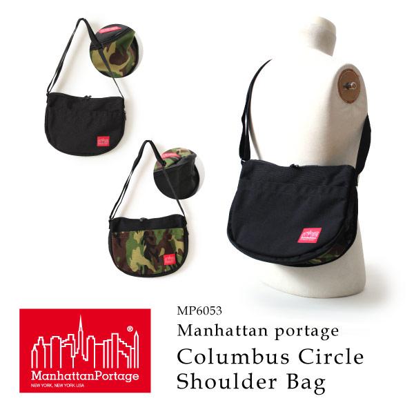 (マンハッタンポーテージ) Manhattan Portage ショルダーバッグ 斜めがけバッグ Columbus Circle Shoulder Bag