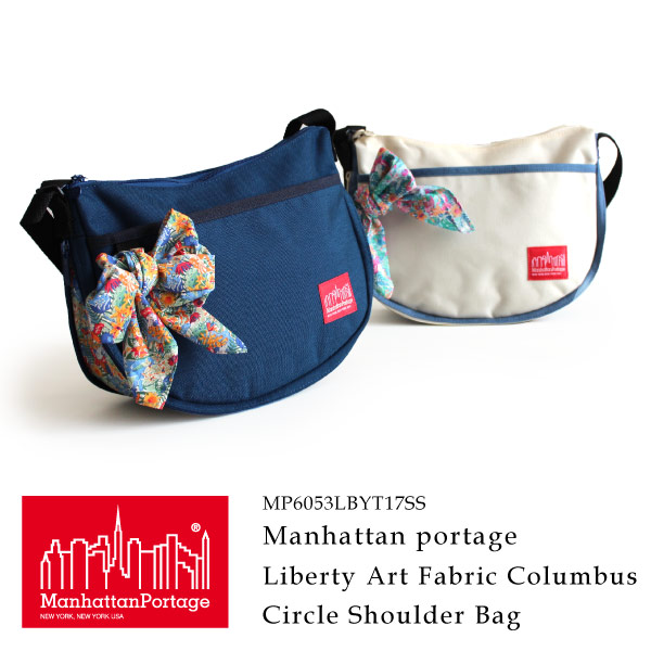 (マンハッタンポーテージ) Manhattan Portage Liberty Art Fabrics Columbus Circle Shoulder Bag MP6053LBTY17SS