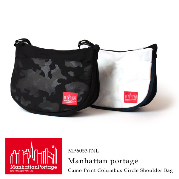 (マンハッタンポーテージ) Manhattan Portage カモプリント コロンブスサークルショルダーバッグ 斜めがけバッグ