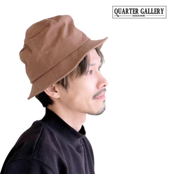 (クオーターギャラリー) QUARTER GALLERY ハイクラウンバケットハット 帽子 熱中症対策 紫外線対策 UV対策