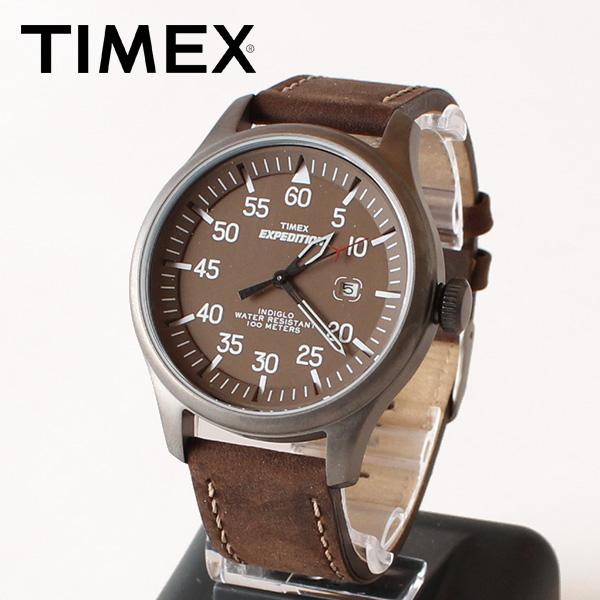 【即納】【送料無料】TIMEX タイメックス 腕時計 ウォッチ エクスペディションミリタリーフィールド ブラウン