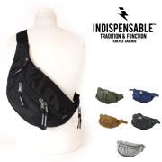 (インディスペンサブル) INDISPENSABLE ウエストバッグ ウエストポーチ ヒップバッグ 斜めがけ 3L IDP WAIST BAG ATTACH
