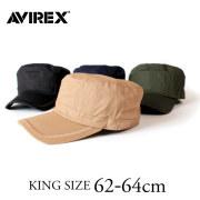 (アヴィレックス) AVIREX 正規品 ワークキャップ キャップ 帽子 大きいサイズ キングサイズ ビッグサイズ メンズ レディース