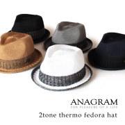 (アナグラム) ANAGRAM サーモハット 中折れハット メンズ レディース 帽子 F58cm