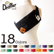 LINE限定クーポンで20%OFF★【即納】【送料無料】Drifter ボディバッグ ヒップバッグ ウエストバッグ ドリフター MADE IN U.S.A.