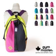 (ジムマスター) gym master メガジップ リュックサック デイパック バックパック ビッグジップ アウトドア スウェット G239561