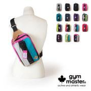 (ジムマスター) gym master メガジップ ボディバッグ ビッグジップ アウトドア スウェット G239572