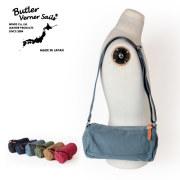 (バトラーバーナーセイルズ) Butler Verner Sails キャンバスミニロールショルダーバッグ 反応染め ボディバッグ