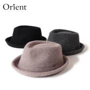 (オリエント) Orient ウールハット 中折れハット 帽子 ポケッタブル 折りたたみ メンズ レディース