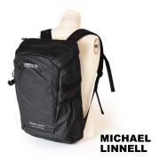 (マイケルリンネル) MICHAEL LINNELL リュックサック 29L A.R.M.Sシリーズ 多機能 メンズ ブラック MLAC-01