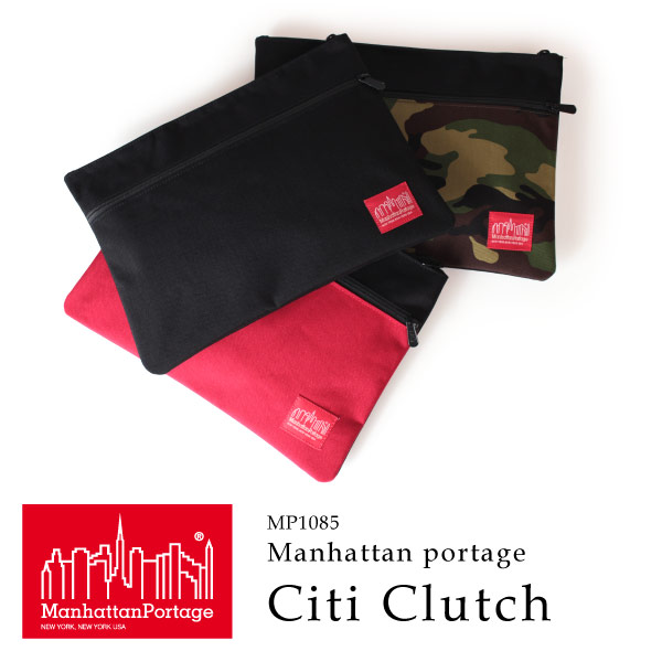 (マンハッタンポーテージ) Manhattan Portage Citi Clutch MP1085