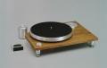 Acoustic Solid アコースティックソリッド Solid 111 Wood 糸ドライブ式アナログプレーヤー アームレス