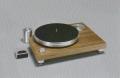 創立20周年限定品 Acoustic Solid アコースティックソリッド Solid Classic Wood Midi 糸ドライブ式アナログプレーヤー アームレス