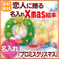 クリスマスは彼に、彼女にサプライズプレゼント【プロミスクリ】〜定型文〜送料無料【C:名入れ】