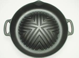 ジンギスカン鍋(穴無し29㎝深型)