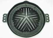 ジンギスカン鍋(穴空き28㎝)