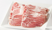 六白黒豚カタロース肉(しゃぶしゃぶ用)150g