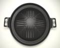 南部鉄器製ジンギスカン鍋(穴空き・30cm)