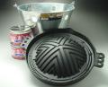 ジンギスカンバケツセット(鍋付き)(商品サイズ換算で送料は15kg料金)