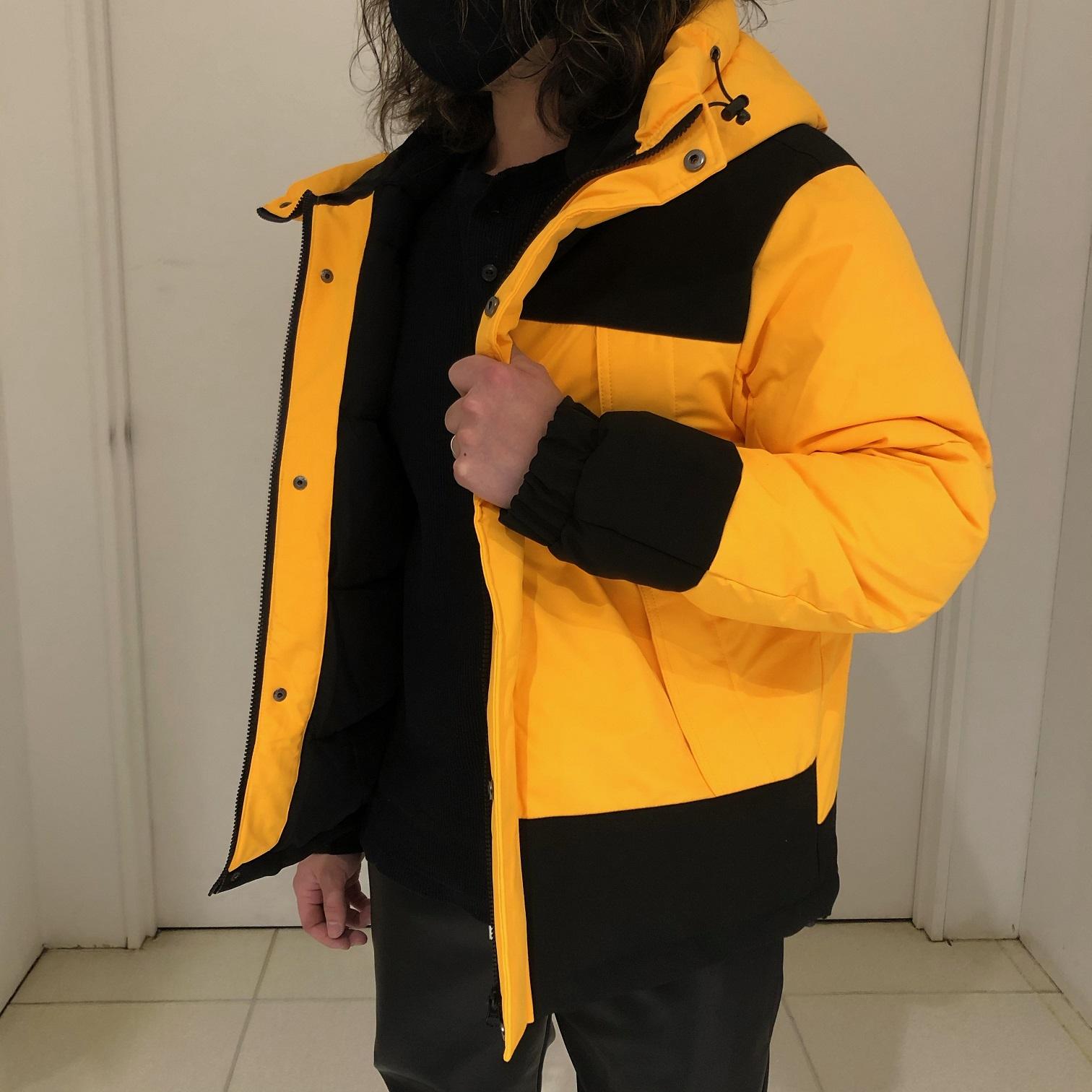 【web特価】【半額】ストレッチ中綿切替フードジャケット